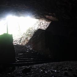 Ingresso grotta Ternovizza