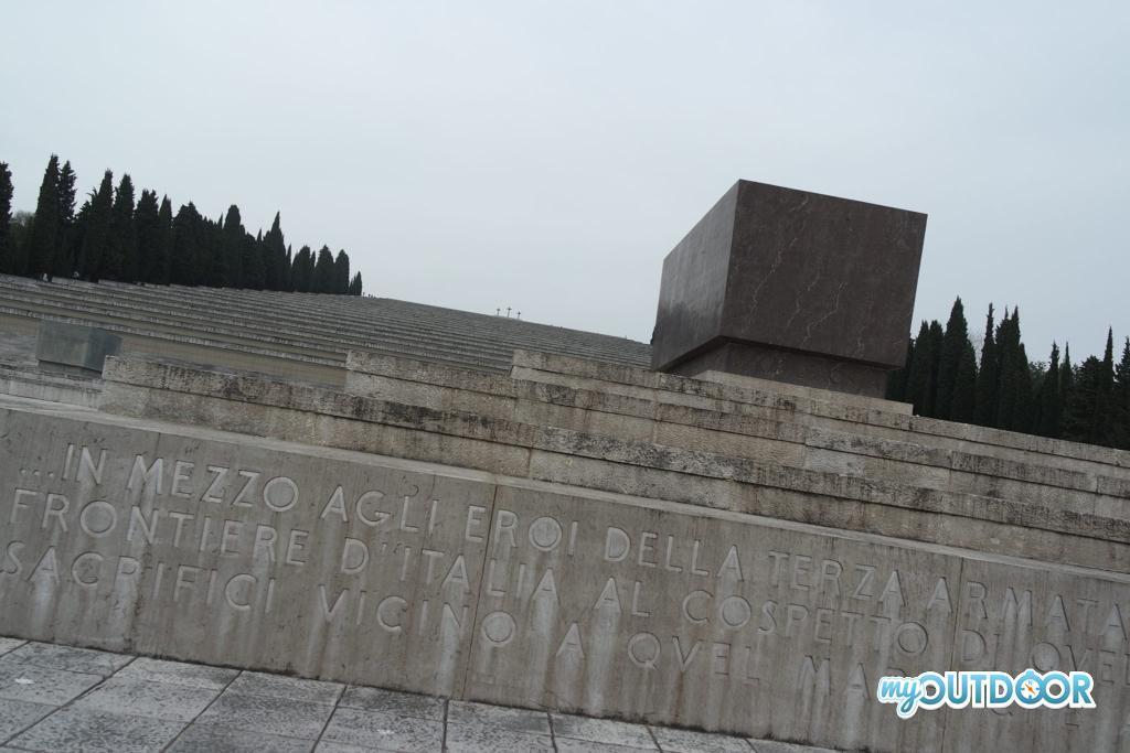 Sacrario Militare Redipuglia - tomba Duca d'Aosta