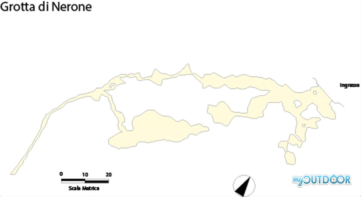 Grotta di Nerone Rilievo