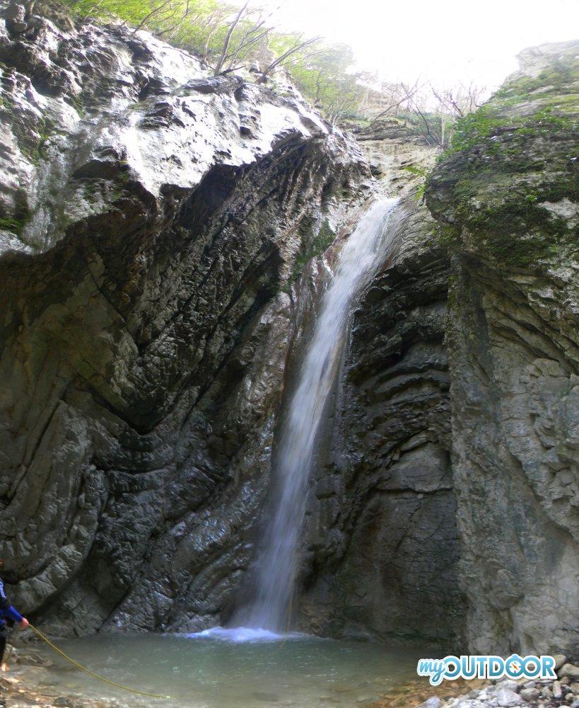 Forra del Presale - salto 18 metri