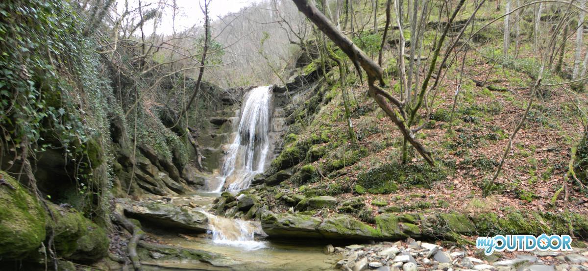 Prima cascata del fosso dei Furlani
