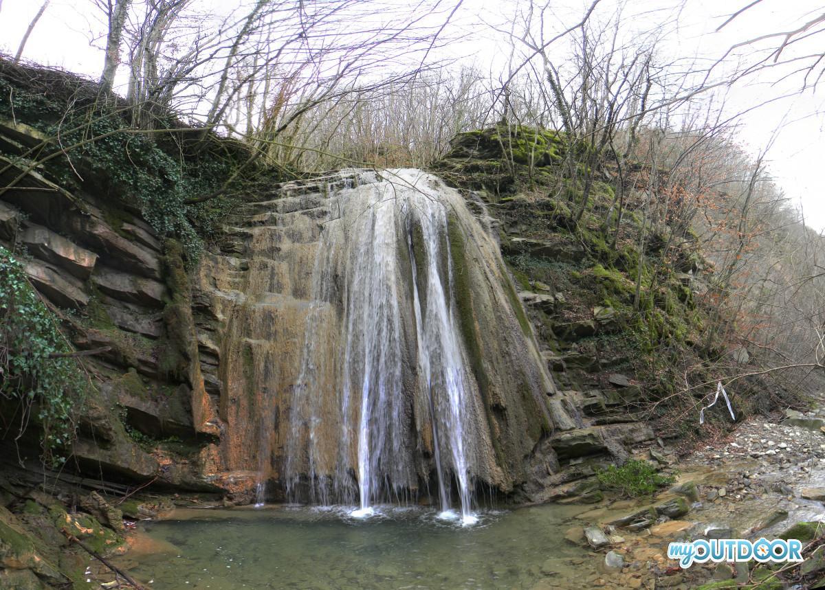 Seconda cascata del Fosso dei Furlani