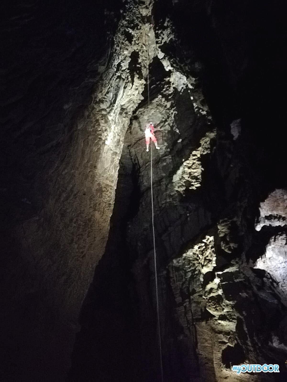 Il Portello, 40 metri nel vuoto