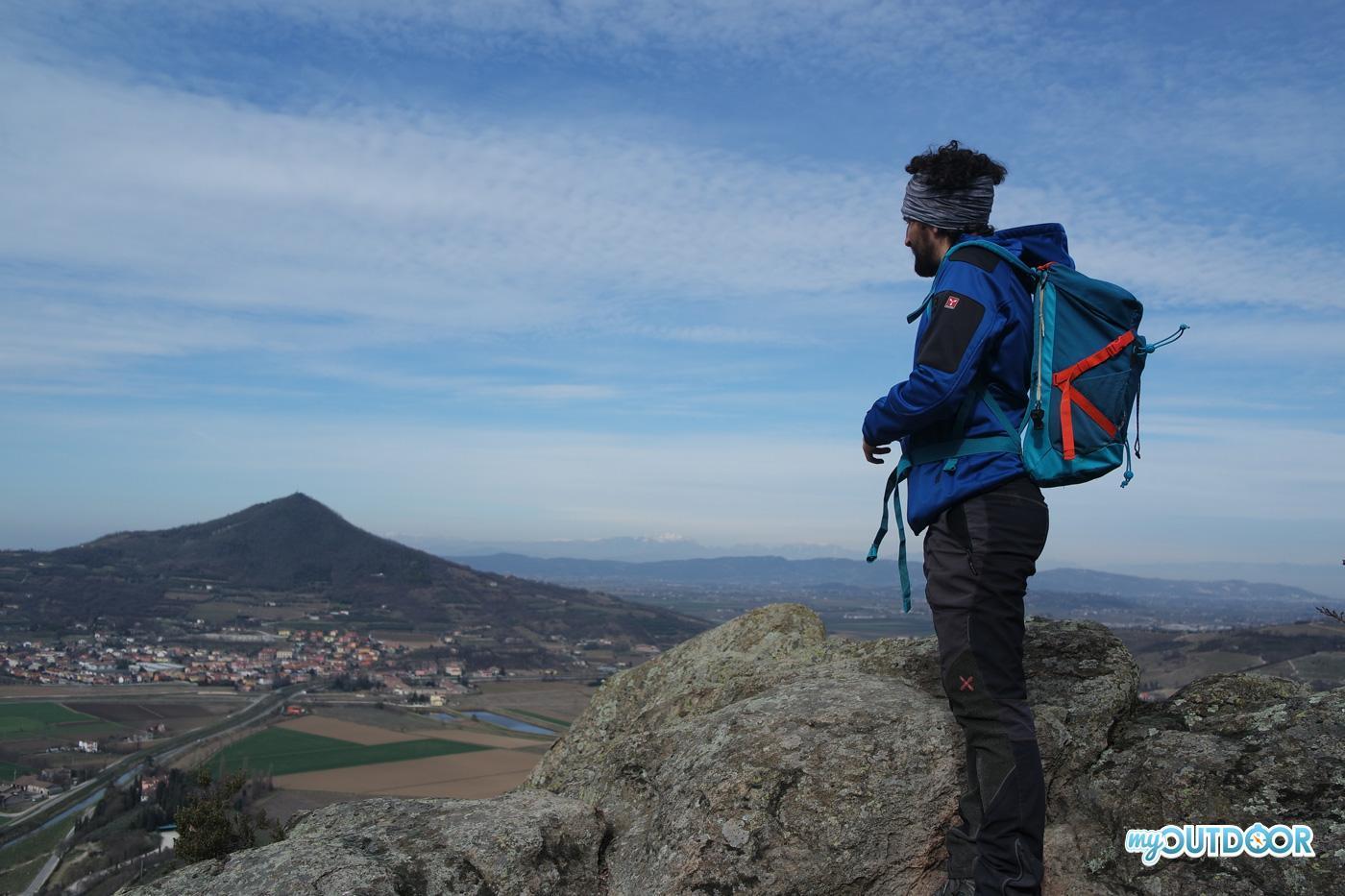Trekking a Monte Cinto, vista dal buso dei briganti