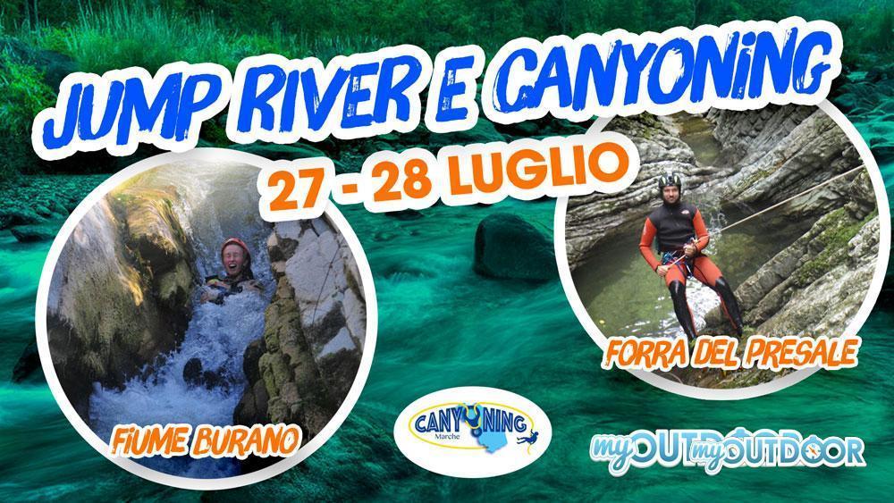 Jump River e Canyoning