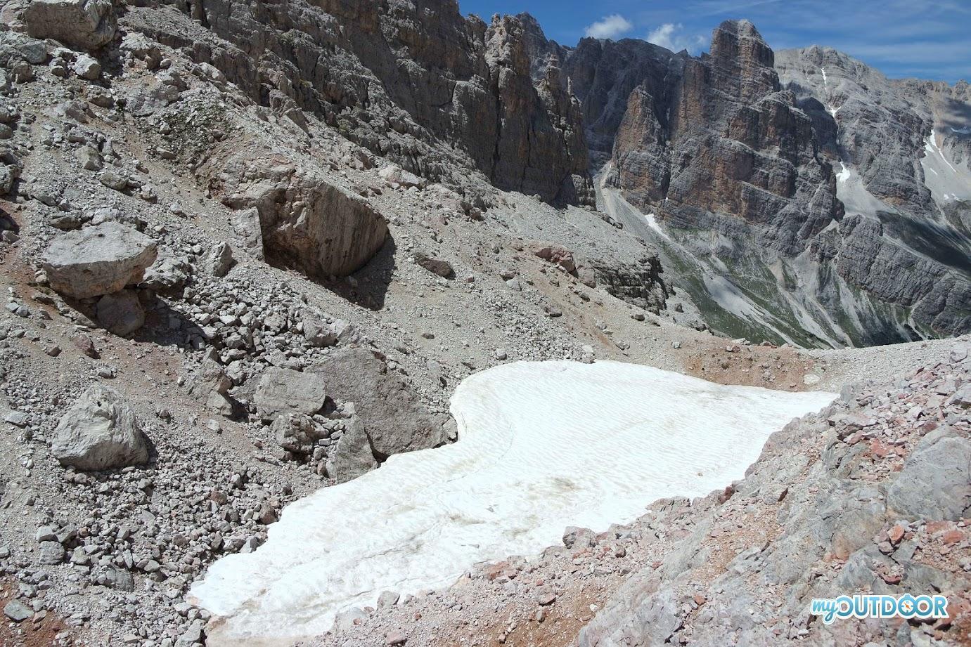 Cratere di mina dell