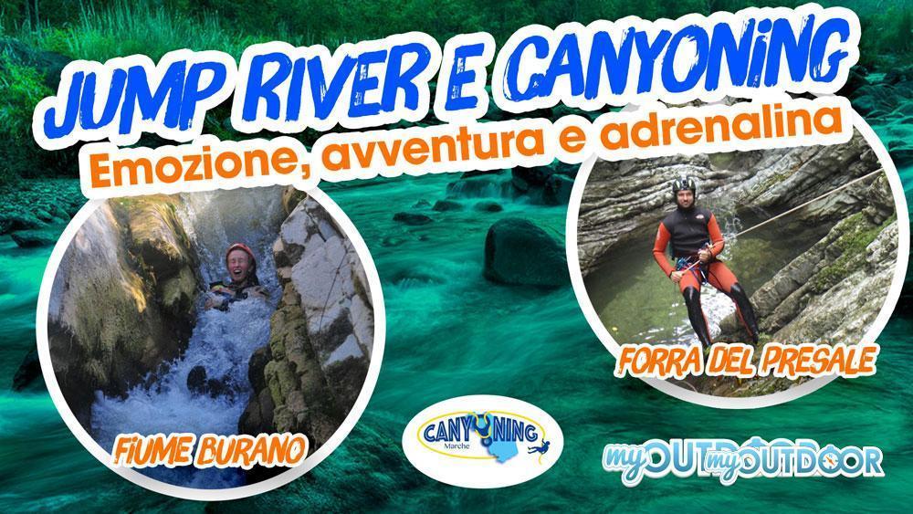Canyoning e Jump River