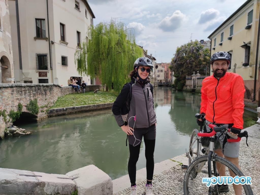 Sara e Michele presso il Canale dei Buranelli