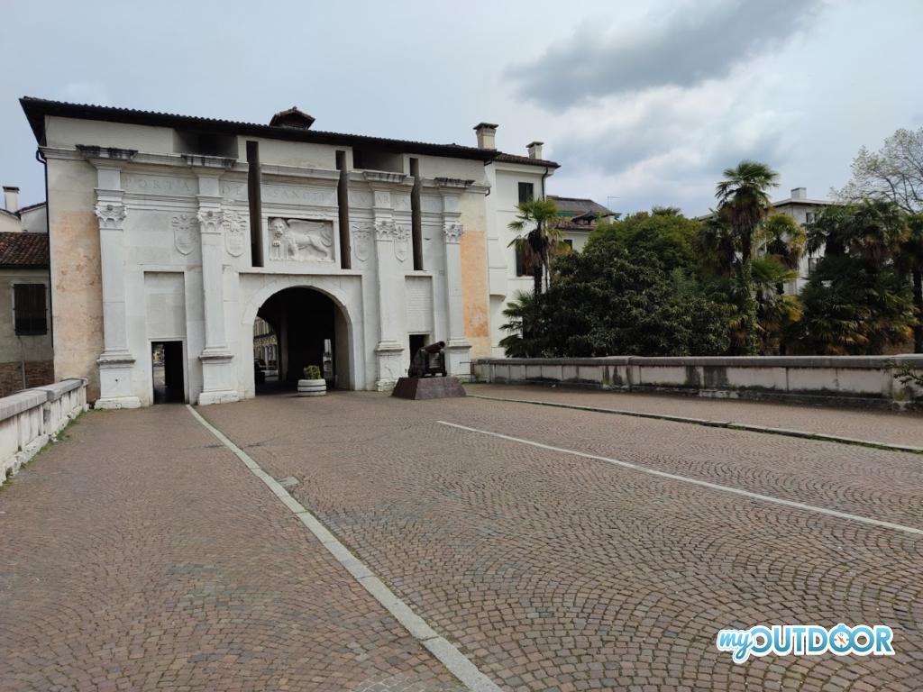 Una porta della città di Treviso