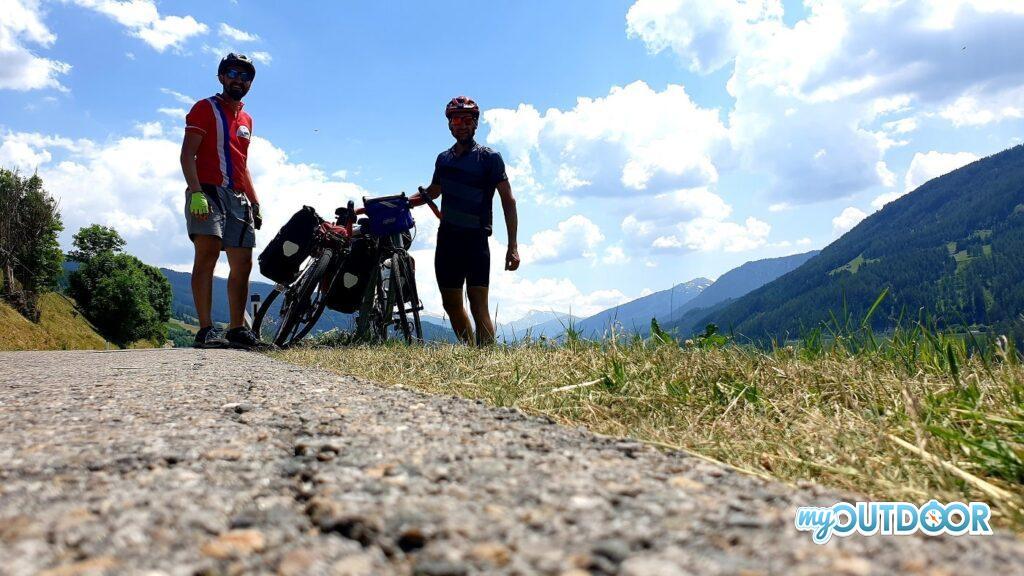 Pausa autoscatto in Tirolo