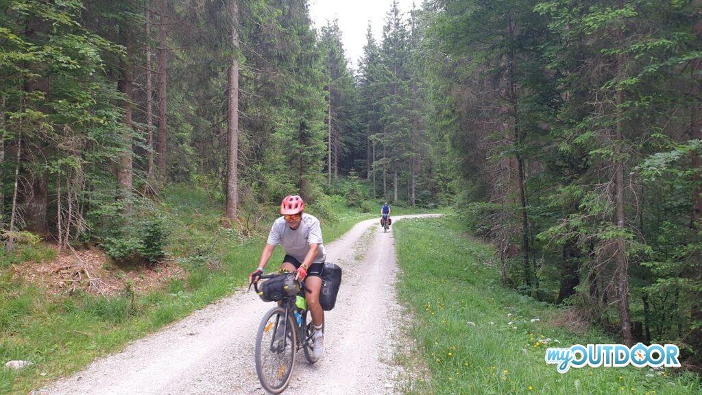 Nei boschi tra Austria e Germania