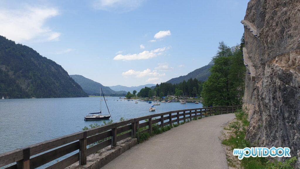 Il bellissimo lago Achen