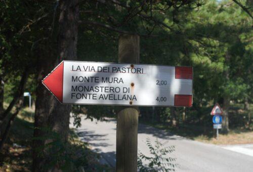 Indicazioni partenza sentiero