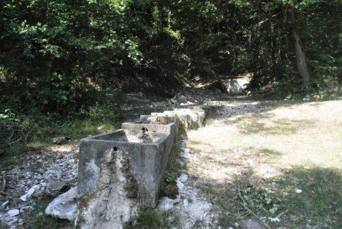Fonte Monte Mura, asciutta