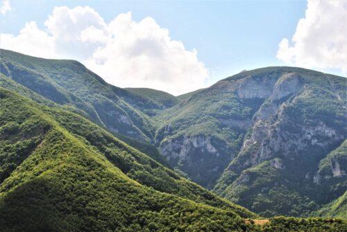 Monte Acuto, Balza della Porta, Genga Aguzza, Monte Schioppettino