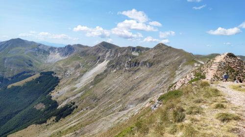 Panorama dalla vetta della Sibilla